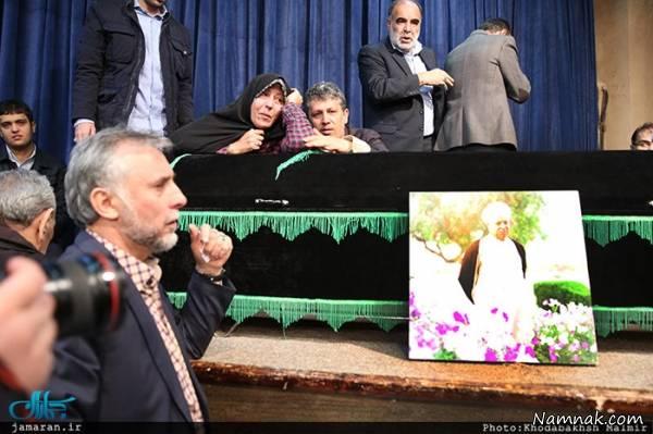وداع خانواده با هاشمی رفسنجانی