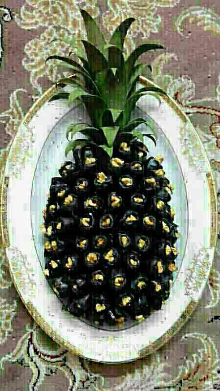 تزیین خرما آناناسی