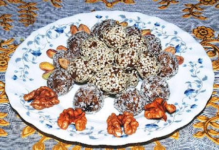 طرز تهیه کاکائو خرمایی,شیرینی های ماه رمضان