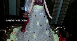تزیین پشمک عروسکی