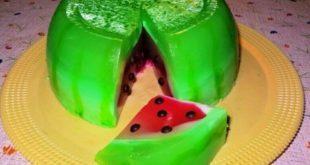 ژله هندوانه