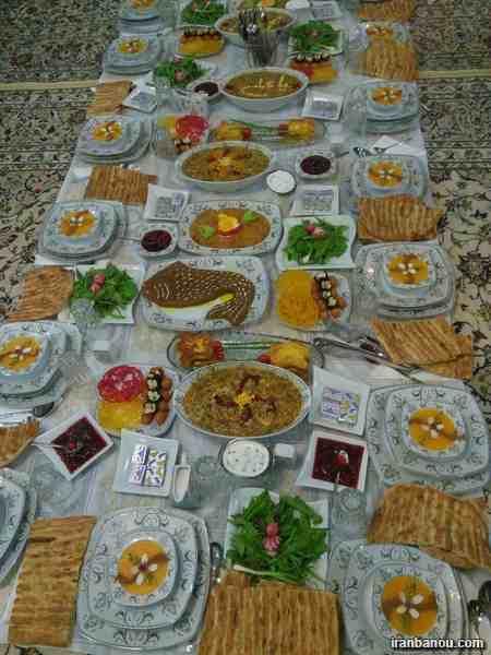 سفره آرایی ماه رمضان,شیرینی های مخصوص ماه رمضان