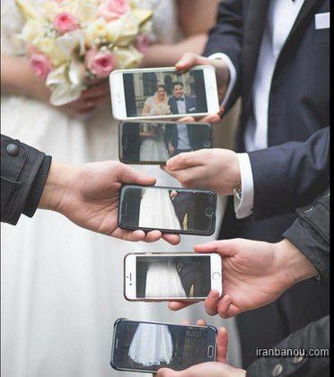 ژست عروس وداماد