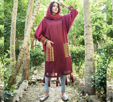 مانتوهای سنتی زنانه, مدل مانتو بلند