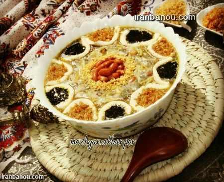 تزیین سفره افطاری ماه رمضان