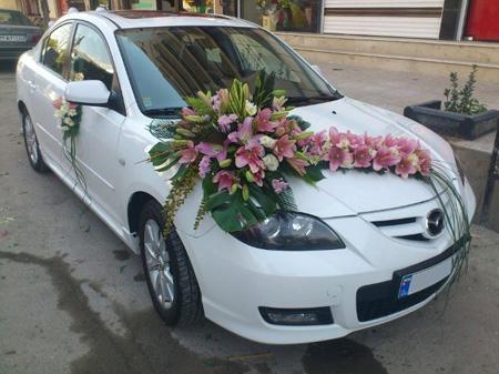 ماشین عروس, مدل ماشین عروس