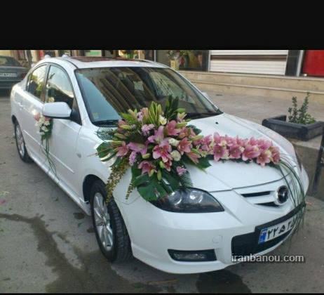 اموزش تزیین ماشین عروس