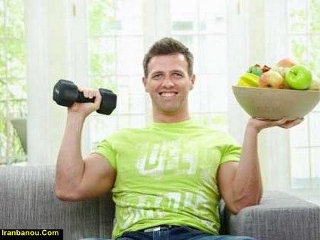 میوه های عضله ساز