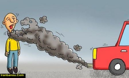جدول آلودگی هوای مناطق تهران