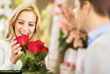 رفتار عاشقانه با زن