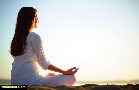 حرکات یوگا برای سردرد