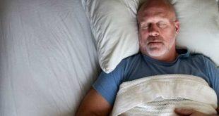 برای راحت خوابیدن در شب