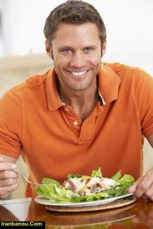 رژیم غذایی لاغری مردان