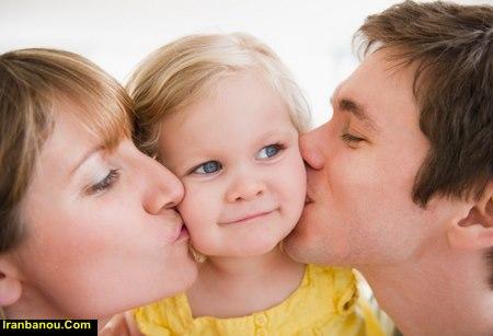 عوارض بوسیدن گوش نوزاد