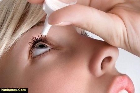 ژل خشکی چشم