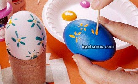 تزیین تخمه مرغ عروس