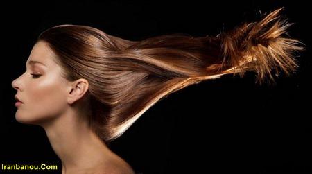 درمان خانگی موی چرب