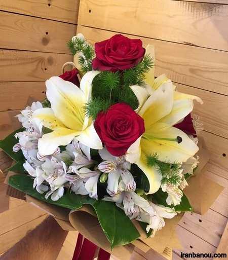دسته گل خواستگاری ایرانی