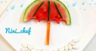 تزیین میوه برای مدرسه