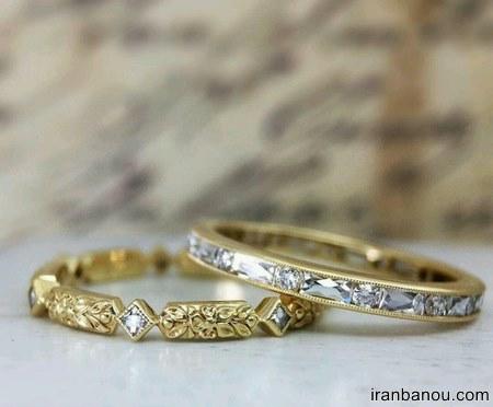 مدل حلقه ظریف عروس