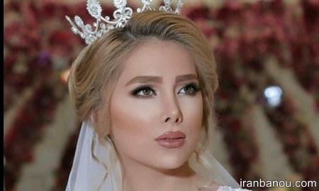 مدل ارایش عروس جدید