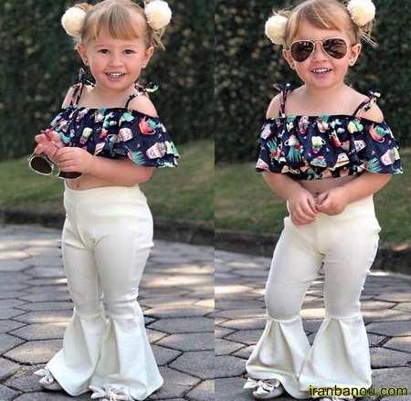 مدل لباس بچه گانه دخترانه جدید و شیک 99 و 2020 ❤️❤️
