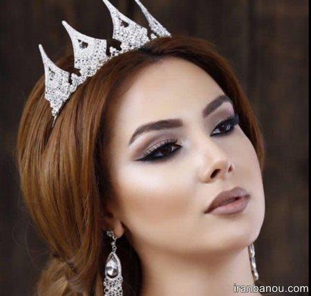 زیباترین مدل موی عروس ایرانی