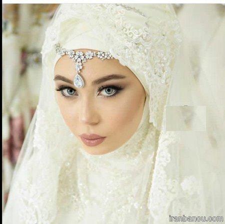 مدل تاج عروس فرحی